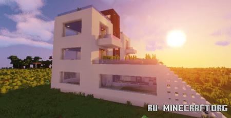 Скачать Terrace Modern House для Minecraft