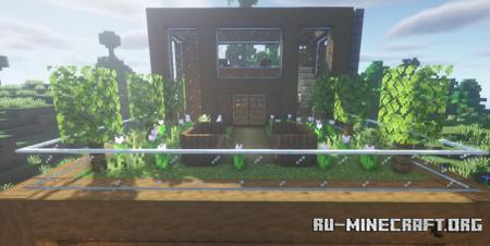 Скачать Modern Wooden House by TechnoKing для Minecraft
