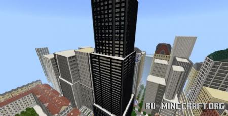 Скачать Newplains - A Minecraft City для Minecraft