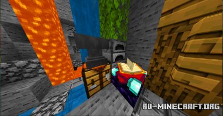 Скачать LvzBx Minecraft Default 3D Textures для Minecraft PE 1.17