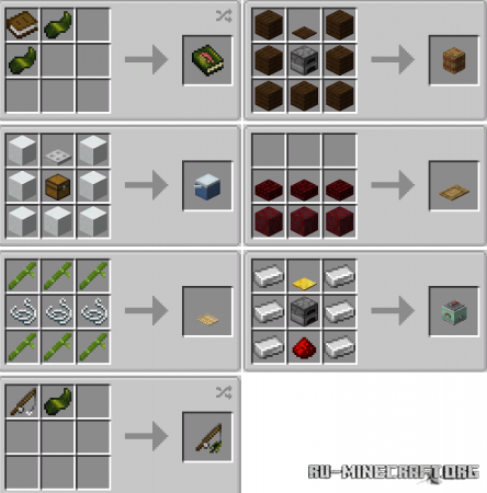 Скачать Sushi Go Crafting для Minecraft 1.16.5