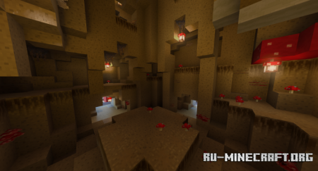 Скачать Gloom and Shroom для Minecraft PE 1.17