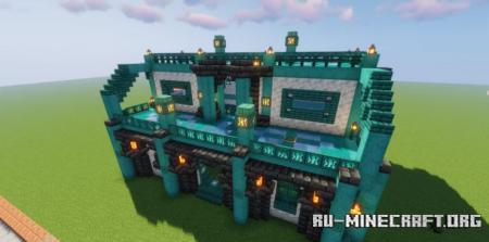 Скачать Temple House by Conc3rto для Minecraft