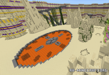 Скачать The Chronoseum (Arena Creation) для Minecraft PE