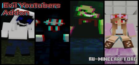 Скачать Evil Youtubers для Minecraft PE 1.16