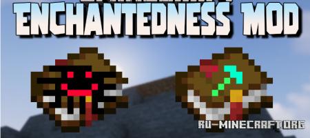 Скачать Enchantedness для Minecraft 1.16.5