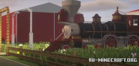 Скачать MY Dream Farm by Trainchaser2020 для Minecraft