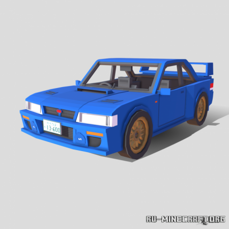 Скачать Subaru Impreza 22B STi для Minecraft PE 1.17
