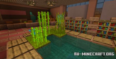 Скачать Greener Green для Minecraft PE 1.17