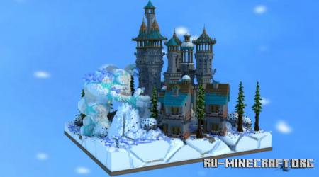Скачать Winter Themed Spawn для Minecraft