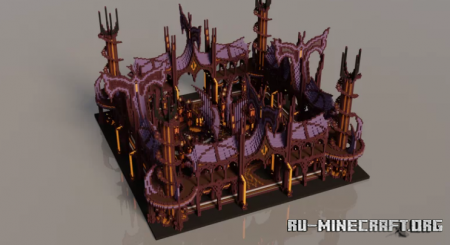 Скачать Spawn - Dark Magician Castle для Minecraft