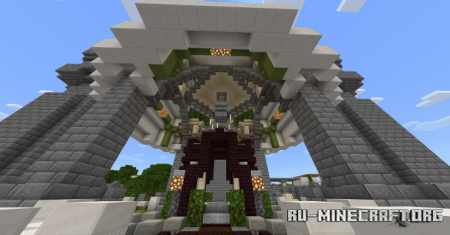 Скачать Railroad City для Minecraft PE