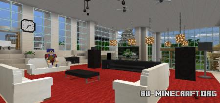 Скачать BONY162 Furniture для Minecraft PE 1.17