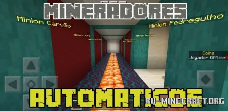 Скачать Stone Miner для Minecraft PE