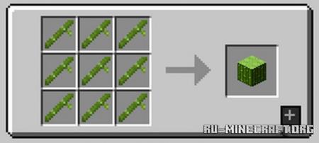 Скачать Bamboo Everything для Minecraft 1.16.5