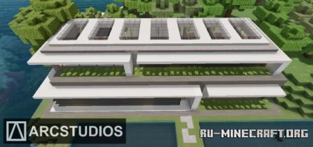 Скачать Modern Mansion 3 - Bayside House для Minecraft