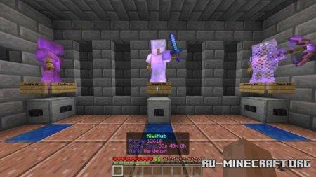 Скачать KiwiHub - KitPvP, Mining, Parkour для Minecraft PE