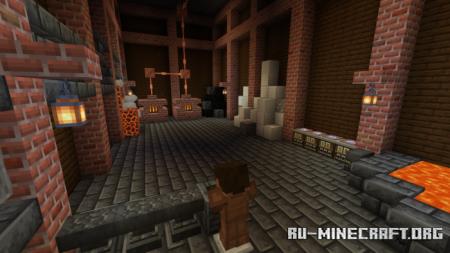 Скачать Murder at Grimwood Manor для Minecraft PE