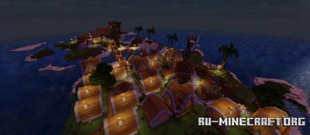 Скачать Island Village (ByJeeBuilds) для Minecraft