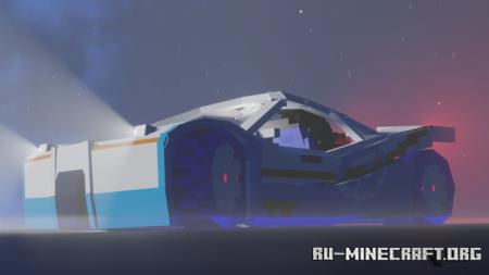 Скачать Hot Wheels Acceleracers - Sling Shot - Teku для Minecraft PE 1.17