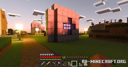 Скачать T-Bone PBR для Minecraft PE 1.17