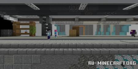 Скачать Beyond the Border by TheblueMan003 для Minecraft