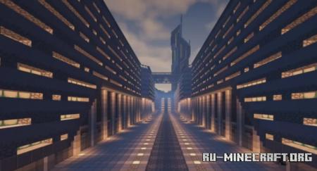 Скачать The Future City by Camedon1 для Minecraft