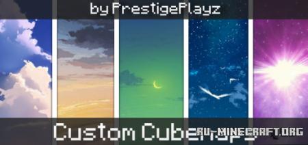 Скачать Custom Cubemaps Pack для Minecraft PE 1.17