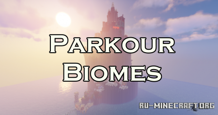 Скачать Parkour Biomes by Eelaa для Minecraft