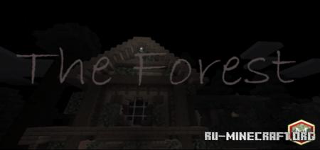 Скачать The Forest (Horror Map) для Minecraft PE