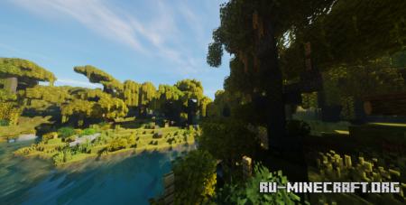 Скачать Motschen's Better Leaves для Minecraft 1.17