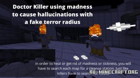 Скачать Dead By Daylight - Horror Multiplayer 4v1 Game для Minecraft PE