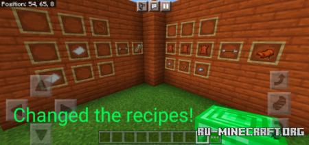 Скачать PE's Craftables для Minecraft PE 1.17
