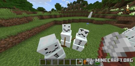 Скачать Vanilla Mob Variants для Minecraft PE 1.17