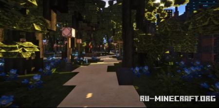 Скачать Villa borghese Palmearium of Heliopolis для Minecraft