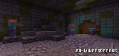 Скачать (THE DUNGEON) lvl1 для Minecraft PE