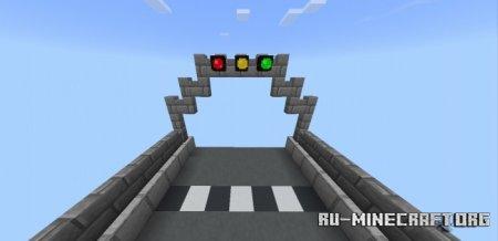 Скачать Red Light, Green Light Hive Minigames для Minecraft PE