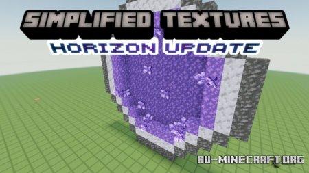 Скачать Simplified Textures для Minecraft PE 1.17
