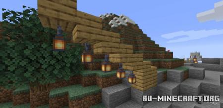 Скачать Torch Slabs для Minecraft 1.17.1
