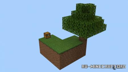 Скачать Classic Skyblock V2.1 для Minecraft PE