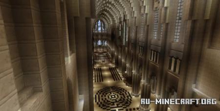 Скачать Chartres Cathedral by The_Oxygen для Minecraft