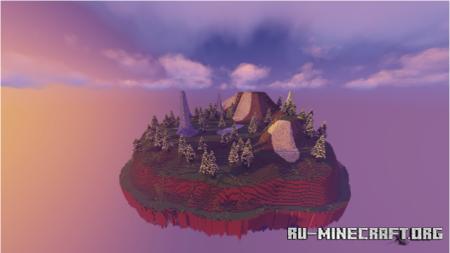 Скачать Custom Sky Islands для Minecraft PE