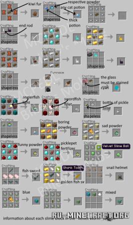 Скачать Billey's Mobs для Minecraft PE 1.17