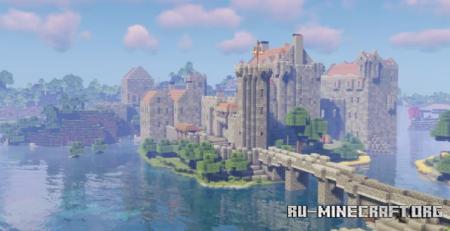 Скачать Red Castle by MVskillerXD для Minecraft