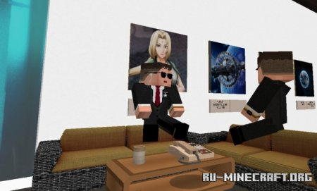 Скачать Bodyguard Addon для Minecraft PE 1.17