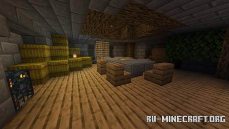 Скачать Not Enough Structures для Minecraft PE 1.17