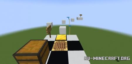 Скачать Parkour map by Night_DragonYT для Minecraft