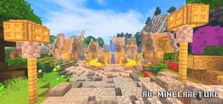 Скачать KSPE Shaders для Minecraft PE 1.17