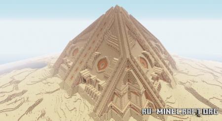 Скачать Pyramid by huuduc2009 для Minecraft
