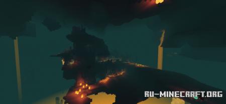 Скачать Haptic Shader (Caves & Cliffs) для Minecraft PE 1.16